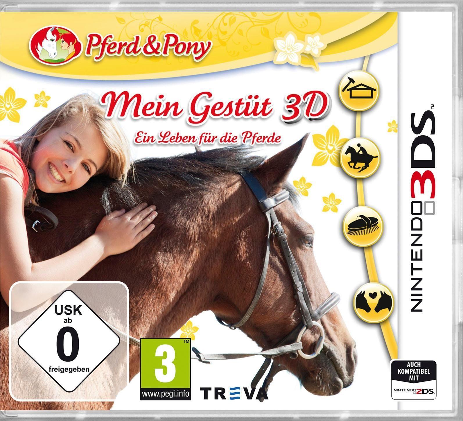 Mein Gestüt 3D - Ein Leben Für Die Pferde Nintendo 3DS, Software Pyramide