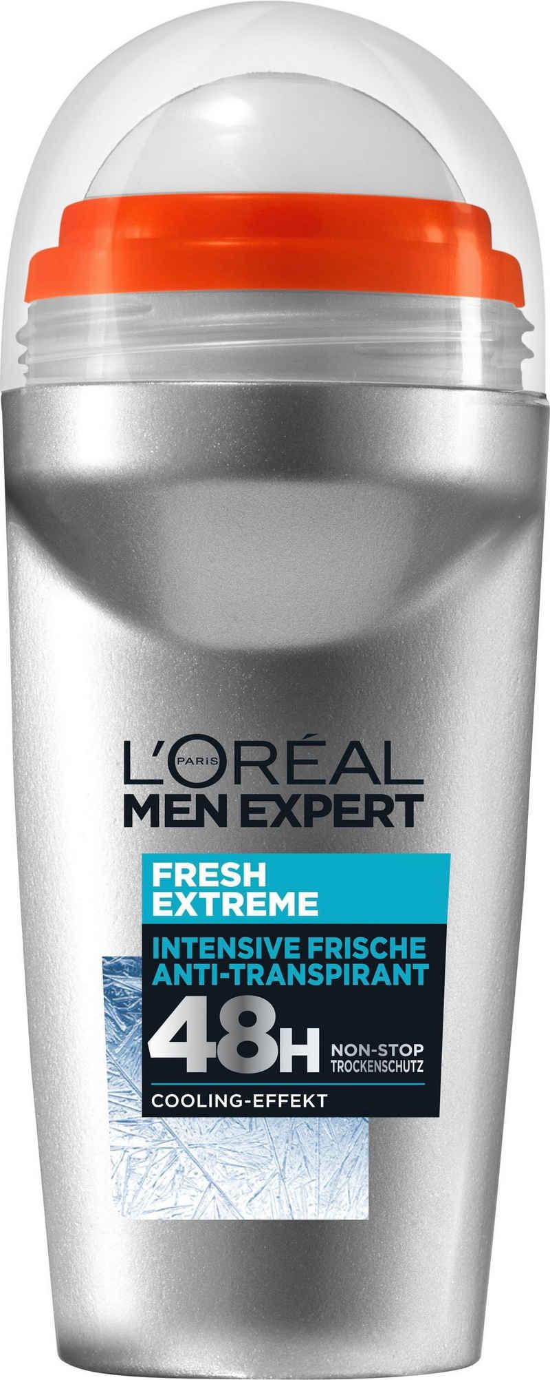 L'ORÉAL PARIS MEN EXPERT Deo-Roller »Fresh Extreme«, 48H Non-Stop Trockenschutz