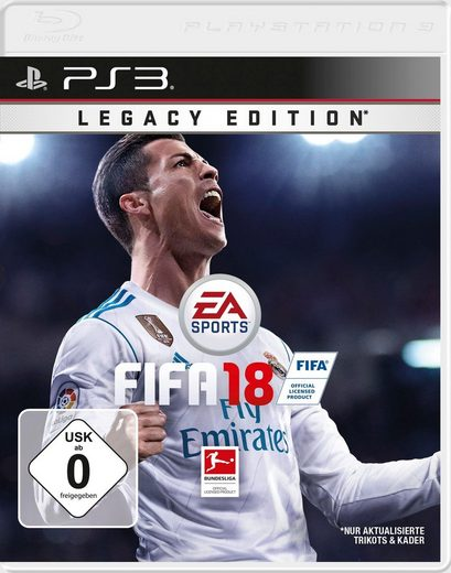 Fifa 18 Legacy Edition PlayStation 3, Software Pyramide