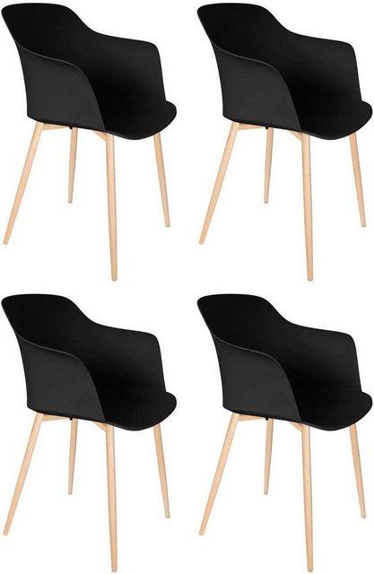 Stühle und Bänke - Kayoom Stuhl »Chester« (4er Set)  - Onlineshop OTTO