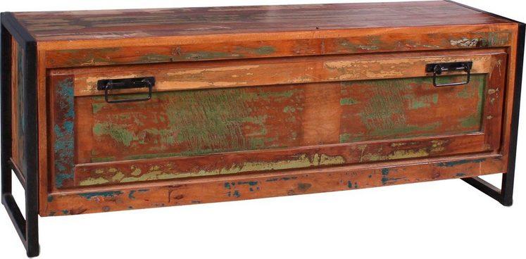 SIT Schuhkommode »Bali«, aus recyceltem Holz in Vintage Optik