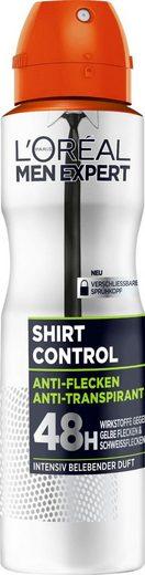 L'ORÉAL PARIS MEN EXPERT Deo-Spray »Shirt Control«, Schützt vor weißen Rückständen & Textilverhärtungen
