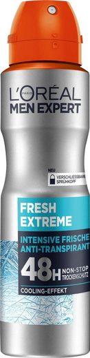 L'ORÉAL PARIS MEN EXPERT Deo-Spray »Fresh Extreme«, 48H Non-Stop Trockenschutz