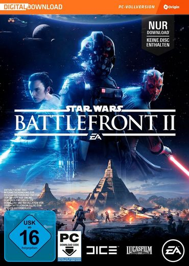 Star Wars Battlefront 2 (Code in the Box) PC, Software Pyramide