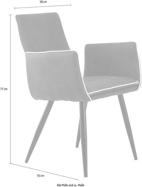 Stühle und Bänke - Kayoom Stuhl »Penelope« (2er Set)  - Onlineshop OTTO