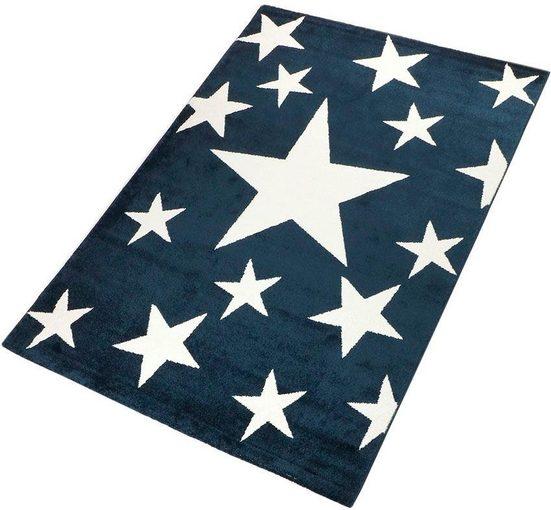 Teppich »Stars«, Living Line, rechteckig, Höhe 12 mm, Motiv Sterne
