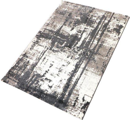 Teppich »Pepe 1«, Living Line, rechteckig, Höhe 12 mm, modernes Design, Wohnzimmer