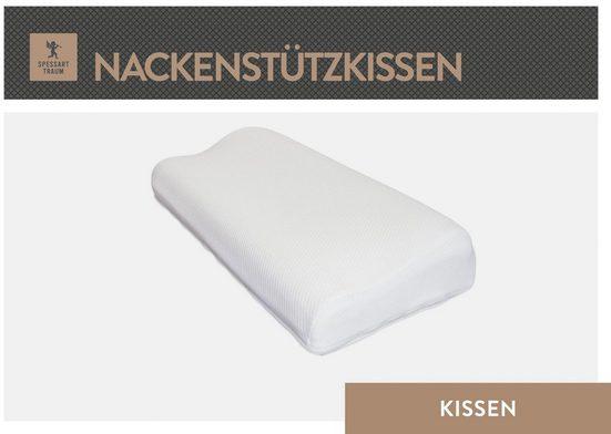Nackenstützkissen, »Bronze«, SPESSARTTRAUM, Bezug: Tencel Doppeltuch, (1-tlg), hergestellt in Deutschland, allergikerfreundlich