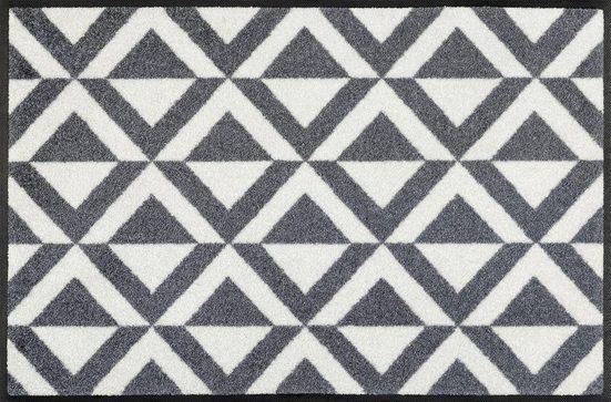 Fußmatte »Alvar«, wash+dry by Kleen-Tex, rechteckig, Höhe 7 mm, Fussabstreifer, Fussabtreter, Schmutzfangläufer, Schmutzfangmatte, Schmutzfangteppich, Schmutzmatte, Türmatte, Türvorleger