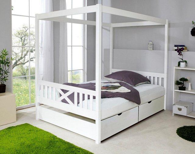 Ticaa Himmelbett »Lino«   Schlafzimmer > Betten > Himmelbetten   Ticaa