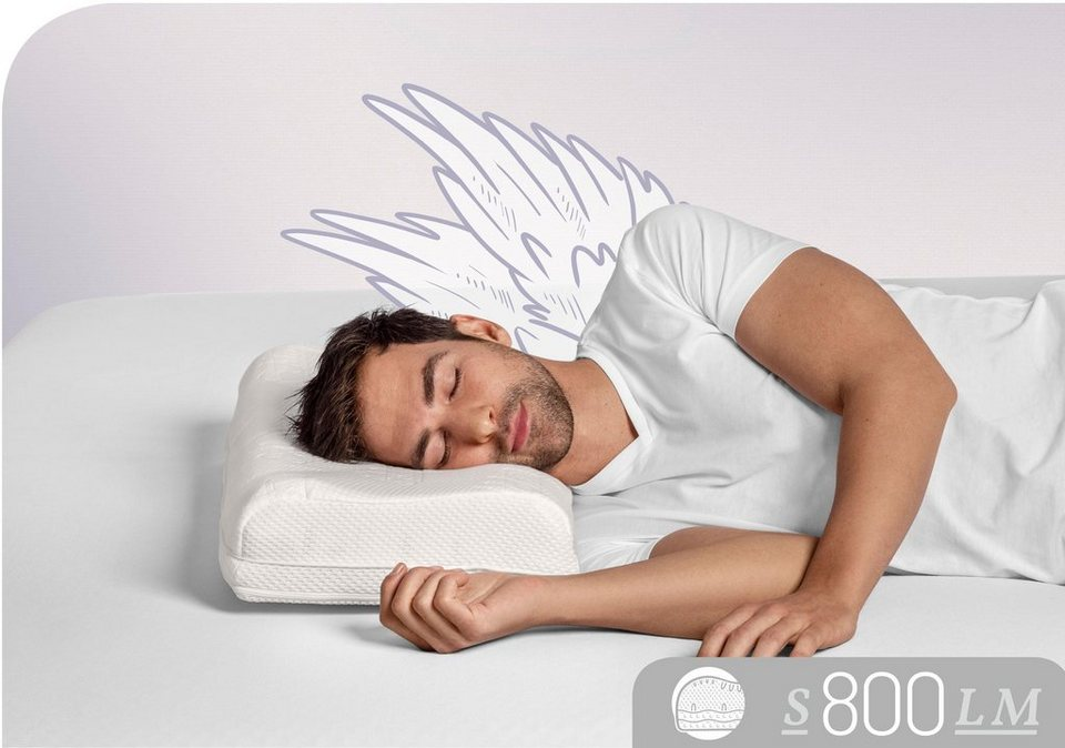 Nackenstutzkissen S800 Lm Schlafstil Fullung Talalay Natur Latex Medium Bezug 100 Baumwolle 1 Tlg Online Kaufen Otto