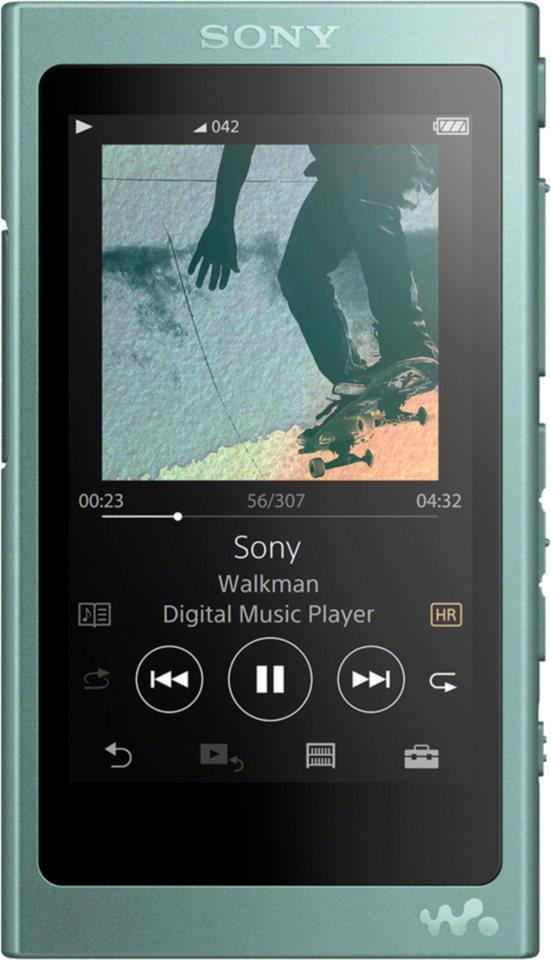 sony mp3 player a40 walkman 39 a serie 39 mit 16gb speicher online kaufen otto. Black Bedroom Furniture Sets. Home Design Ideas