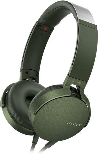 Sony Headset »MDR-XB550AP Extra Bass-Kopfhörer«