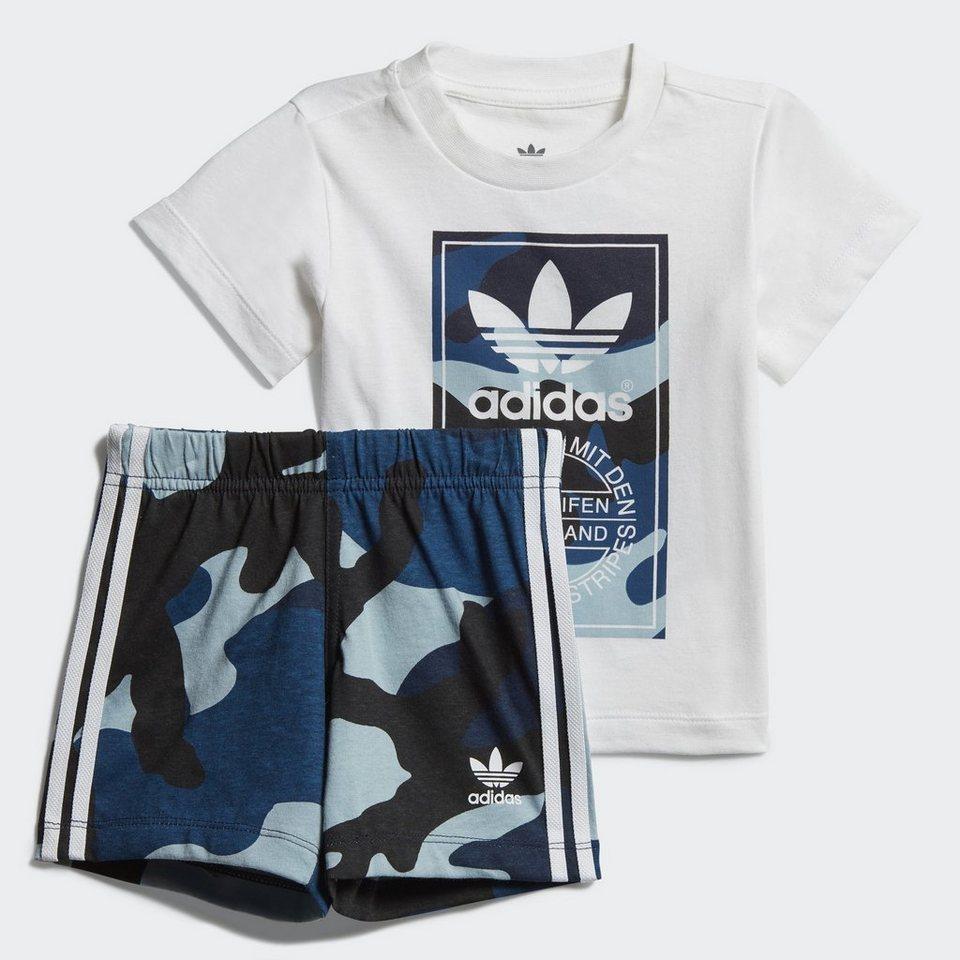adidas originals trainingsanzug camouflage t shirt set. Black Bedroom Furniture Sets. Home Design Ideas