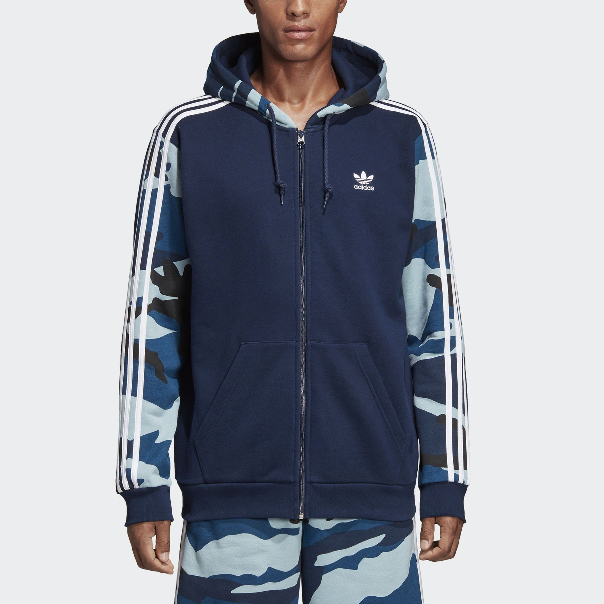 adidas Originals Funktions-Kapuzensweatjacke »Camouflage Kapuzenjacke«