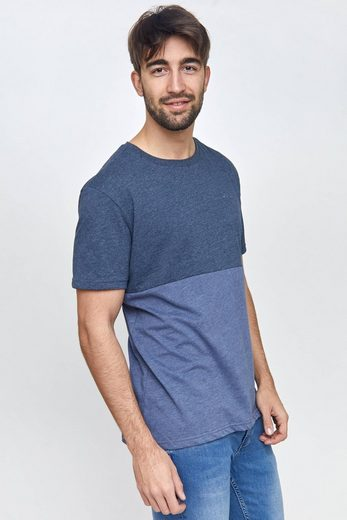 MAZINE T-Shirt im angesagten Colour-Blocking »Utica«