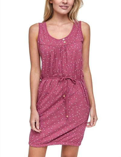 MAZINE Kleid mit asymmetrischer Knopfleiste »Lusiana«