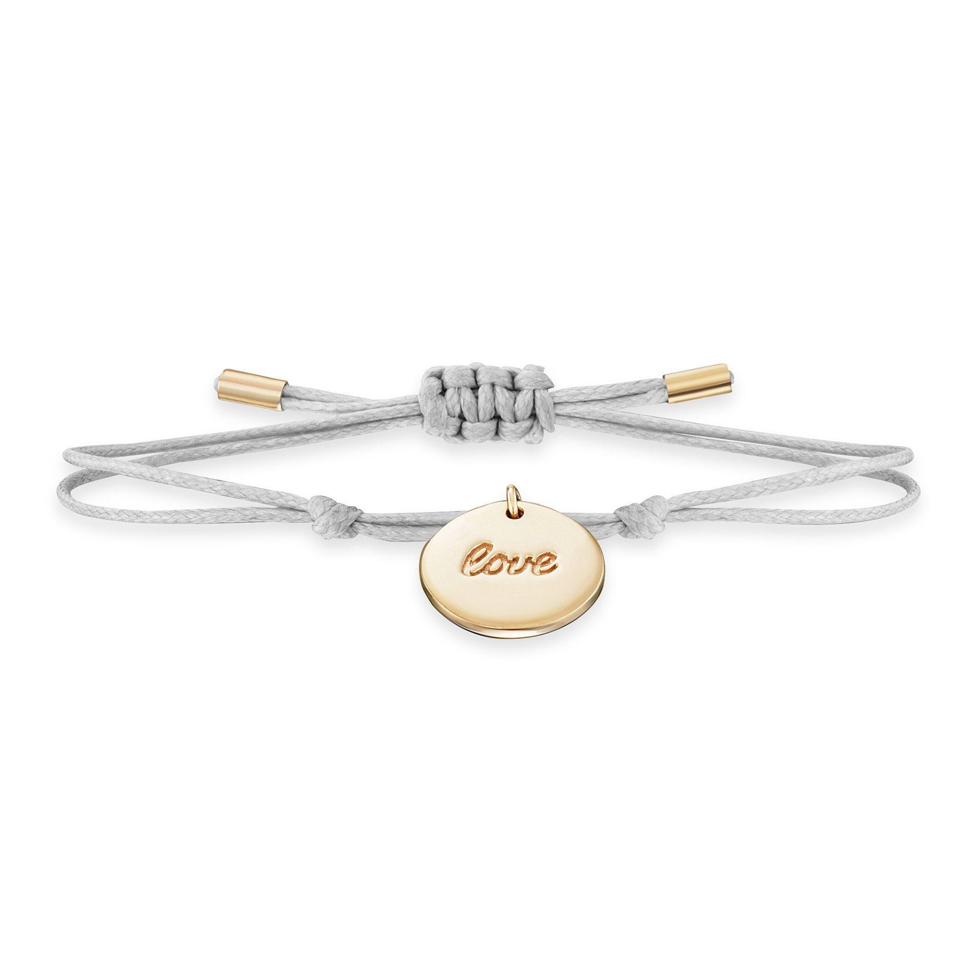 Cai Armband »925/- Sterling Silber vergoldet LOVE«