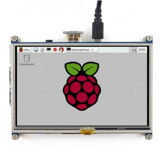 Raspberry Pi Foundation Display »Pi 12,7 cm (5 Zoll) Touchscreen Display«