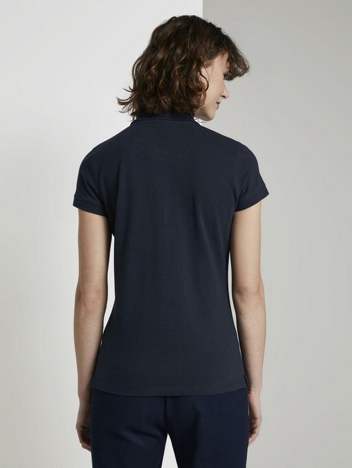 tom tailor -  Poloshirt »Strukturiertes Polo-Shirt«