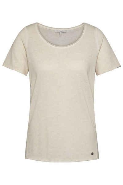 bugatti T-Shirt aus Baumwoll-Mix