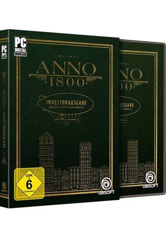 UBISOFT Anno 1800 Investorausgabe PC Code in a...