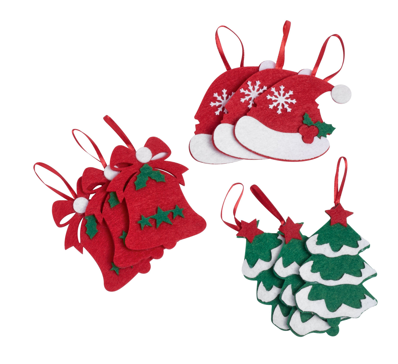 "VBS Filzstanzteile ""Weihnachten"" 9er Set"