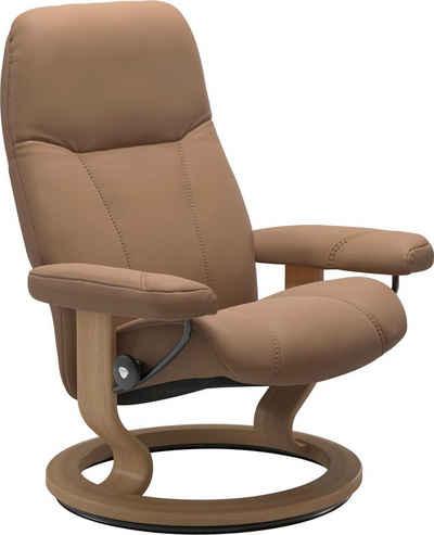 Stressless® Relaxsessel »Consul«, mit Classic Base, Größe M, Gestell Eiche