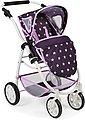 CHIC2000 Kombi-Puppenwagen »Emotion All In 3in1, Stars Lila«, inkl. Babywanne, Babyschale und Sportwagenaufsatz, Bild 4
