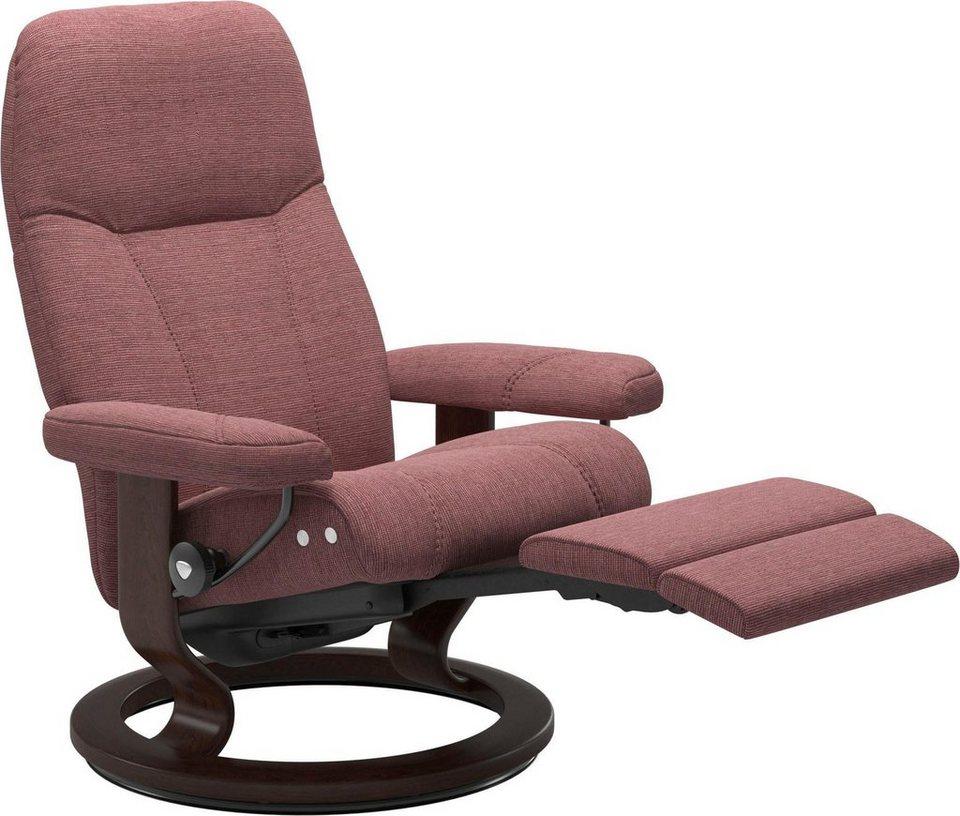 Stressless Relaxsessel Consul mit Classic Base und Leg fort™ Größe L Gestell Braun online