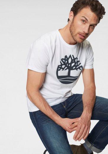 Timberland Rundhalsshirt mit Frontprint