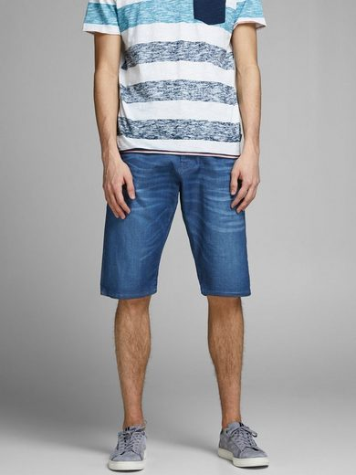 Jack & Jones Lange Jeansshorts