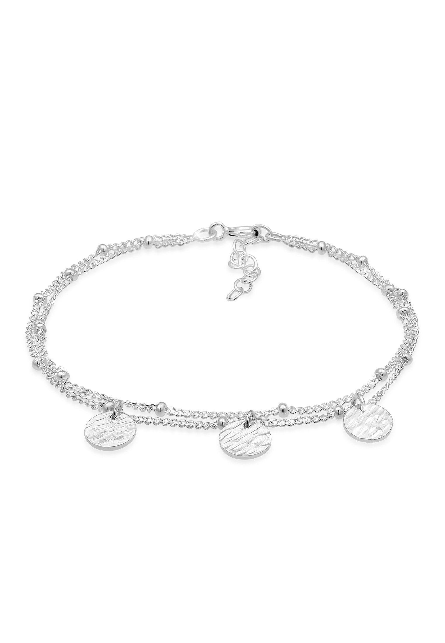 Elli Armband »Basic Layer Kettchen Kugeln Trend Geo 925er Silber«
