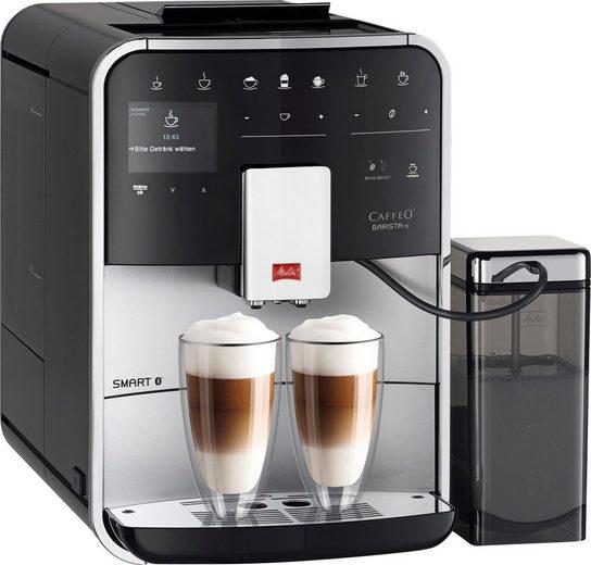 Melitta Kaffeevollautomat CAFFEO Barista TS Smart® F85/0-101, silberfarben/schwarz