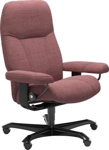 Stressless® Relaxsessel »Consul«, mit Home Office Base, Größe M, Gestell Schwarz