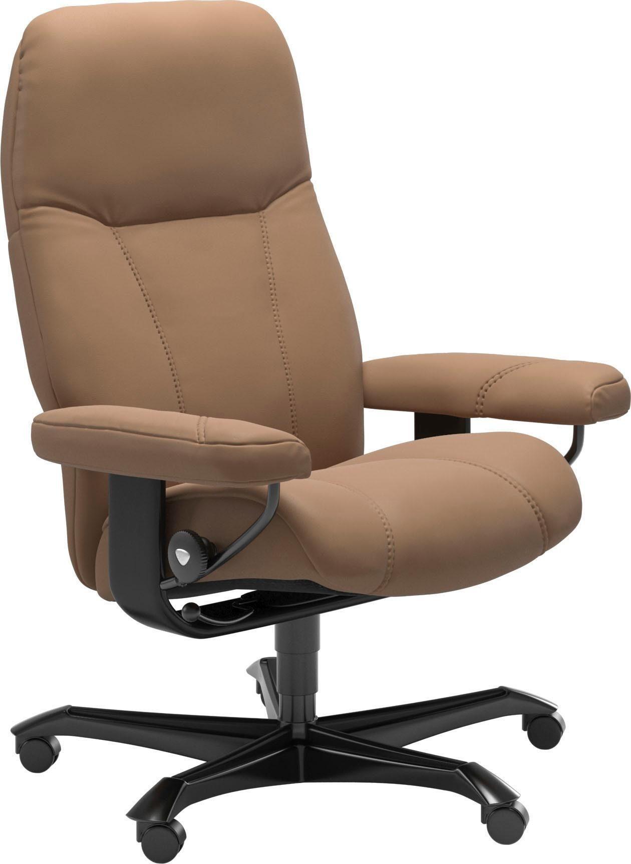 Stressless® Relaxsessel »Consul«, mit Home Office Base, Größe M, Gestell Schwarz online kaufen | OTTO