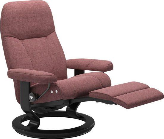 Stressless® Relaxsessel »Consul«, mit Classic Base und LegComfort™, Größe L, Gestell Schwarz