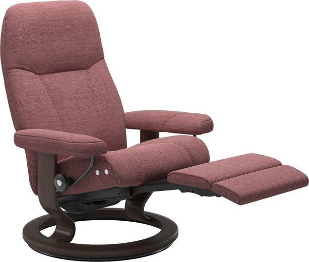 Stressless® Relaxsessel »Consul«, mit Classic Base und LegComfort™, Größe M, Gestell Wenge