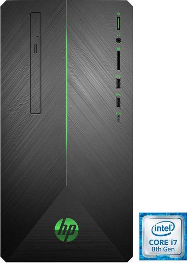HP 690-0330ng Gaming-PC (Intel® Core i7, GTX 1060, 16 GB RAM, 1000 GB HDD, 128 GB SSD, Luftkühlung)