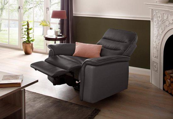 DELAVITA Relaxsessel »Maldini«, mit elektrischer Relaxfunktion und USB-Steckeranschluss, Breite 109 cm