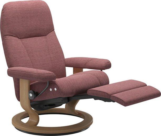 Stressless® Relaxsessel »Consul«, mit Classic Base und LegComfort™, Größe L, Gestell Eiche