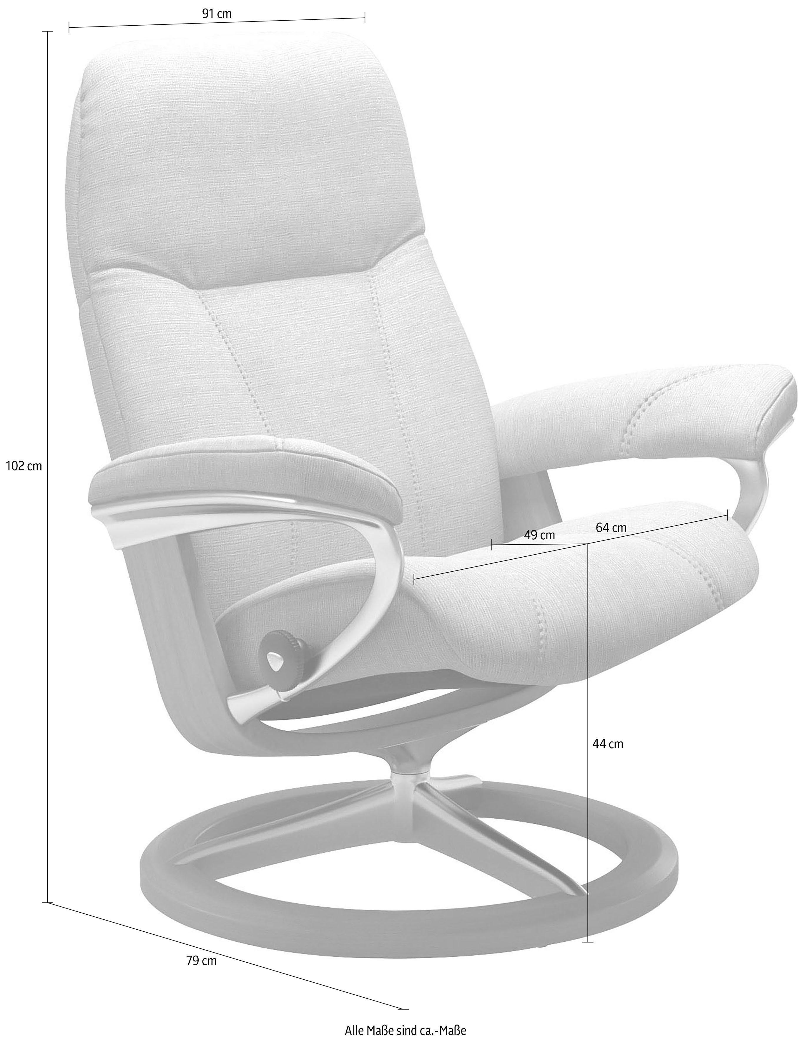 Stressless® Relaxsessel »Consul« mit Classic Base, Größe L, Gestell Whitewash