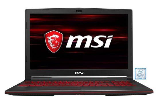 MSI GL63 8RC-816DE Gaming Notebook »39,6 cm (15,6) Intel Core i7,512 GB, 8 GB«