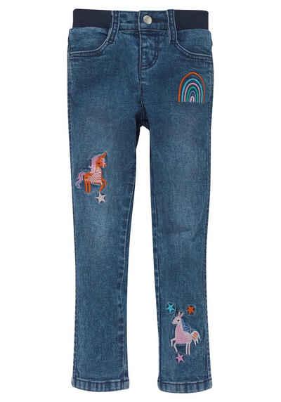KIDSWORLD Stretch-Jeans mit toller Stickerei