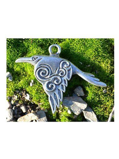 Adelia´s Amulett »Das Erbe der Nordländer Talisman«, Keltischer Rabe - Weisheit und Schutz