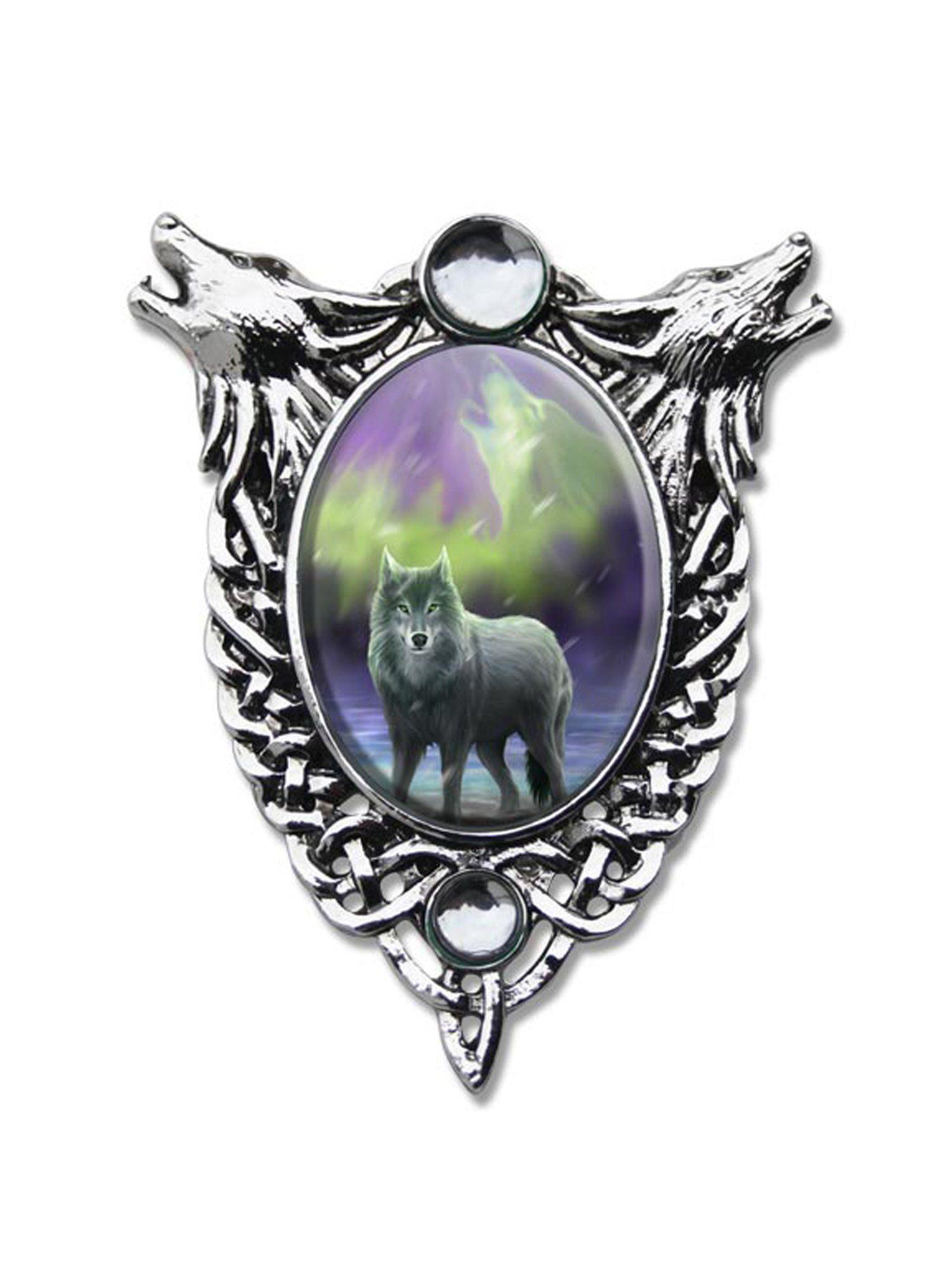 Adelia´s Amulett »Cabochon Talisman« Aura Wolf Cabochon
