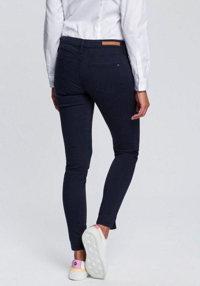 3436576c TOMMY HILFIGER Skinny-fit-Jeans »Como« mit kurzen Saumschlitzen ...