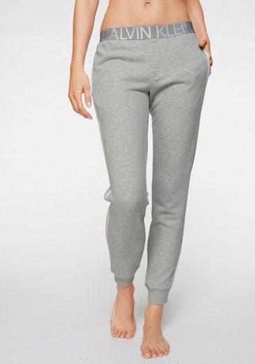 Calvin Klein Jogger Pants mit bedrucktem Wäschebund
