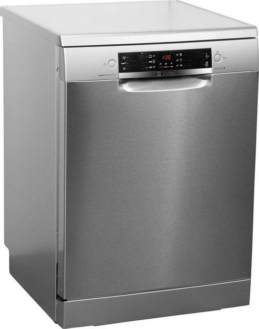 Küchengroßgeräte - BOSCH Standgeschirrspüler 4, SMS46MI07E, 9,5 l, 14 Maßgedecke  - Onlineshop OTTO