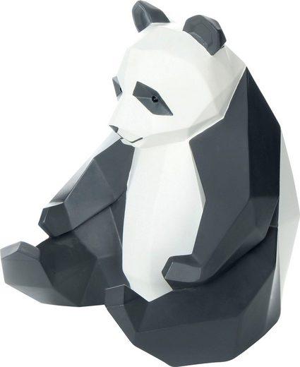 Kayoom Dekofigur »Panda«, Weiß / Schwarz